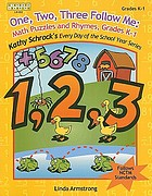 One, two, three, follow me : math puzzles and rhymes, grade K-1