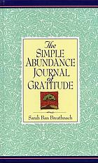The simple abundance : journal of gratitude
