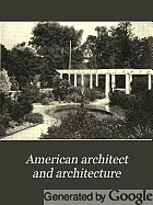 American architect and architecture.