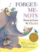 Forget-me-nots : poems to learn by heart