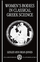 Women's Bodies in Classical Greek Science cover image