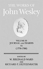 The works of John Wesley v.23, Journals and diaries (1776-86)