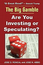 The truth about investment : it's all speculation