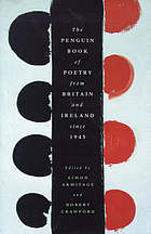 The Penguin book of poetry from Britain and Ireland since 1945