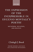 The expression of the inexpressible in Eugenio Montale's poetry : metaphor, negation, and silence