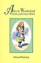 Alice in Wonderland puzzle and game book