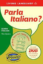 Parla Italiano? Learning Italian, the basics