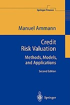 Credit risk valuation : methods, models, and applications