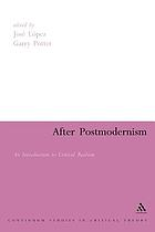 After postmodernism : an introduction to critical realism
