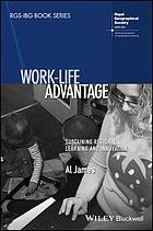 Work-life advantage : sustaining regional learning and innovation