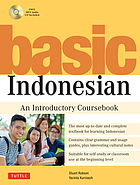 Basic Indonesian : an introductory coursebook