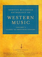 Norton recorded anthology of western music