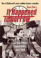 René Clair's It happened tomorrow