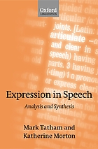 Expression in speech : analysis and synthesis