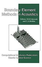 Boundary element methods in acoustics