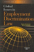 Global issues in employment discrimination law
