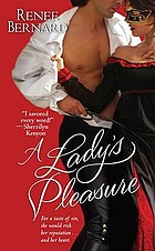 A lady's pleasure
