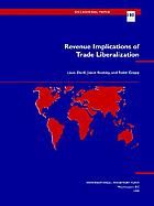 Revenue implications of trade liberalization