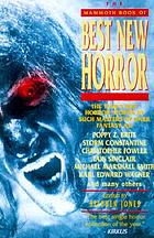 The mammoth book of best new horror. Volume 9