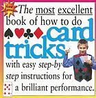 How to do card tricks