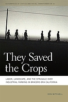 They saved the crops : labor, landscape, and the struggle over industrial farming in Bracero-era California