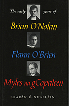 The early years of Brian O'Nolan, Flann O'Brien, Myles na gCopaleen