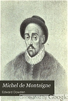 Michel de Montaigne,