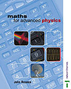 Maths for advanced physics