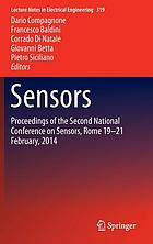 Sensors : Proceedings of the Second National Conference on Sensors, Rome 19-21 February, 2014
