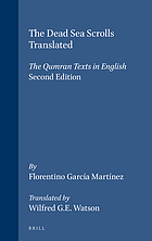 The Dead Sea scrolls translated : the Qumran texts in English