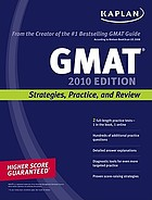 GMAT : strategies, practice, and review