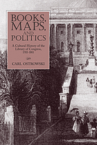 Books, maps, and politics : a cultural history of the