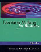 Decision making for business : a reader