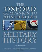 The Oxford companion to Australian military history