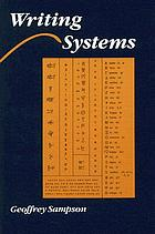 Writing systems : a linguistic introduction