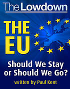 The lowdown : the EU : should we stay or should we go?.