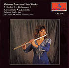 Virtuoso American flute works.