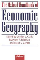 The Oxford handbook of economic geography
