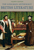 The Longman anthology of British literature. Volume 1B, The early modern period