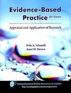 Evidence-based practice for nurses : appraisal and application of research