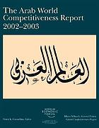 The Arab world competitiveness report 2002-2003.