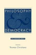 Philosophy and democracy : an anthology