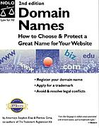 Domain names : how to choose & protect a great name for your website