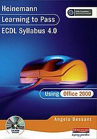 Learning to pass ECDL using Office 2000. Version 4