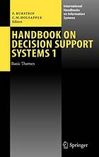 Handbook on decision support systems