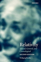 Relativity : special, general, and cosmological