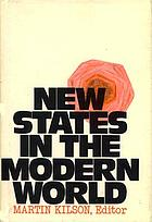New states in the modern world
