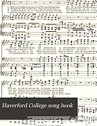 Haverford College song book