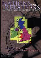 Nations and relations : writing across the British Isles