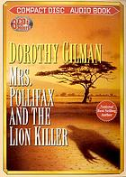 Nova Audio Books presents Mrs. Pollifax and the lion killer